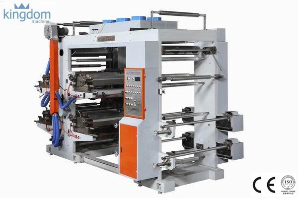 Empat Warna Mesin Flexo Printing