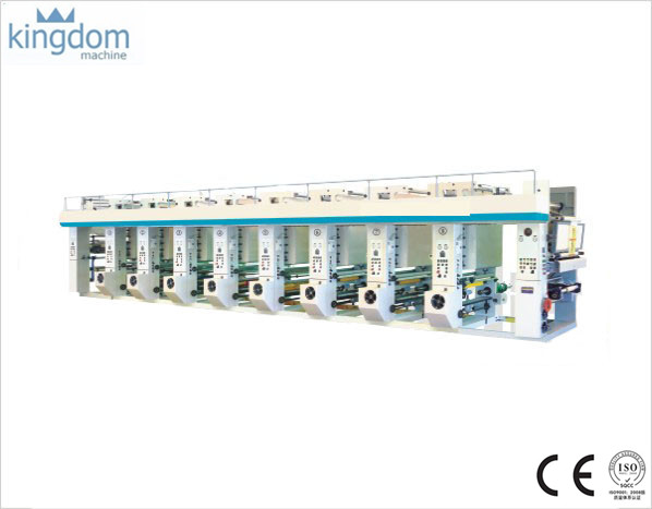 Mesin komputer Gravure Printing